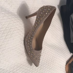 Jcrew Studded Suede Shoes